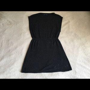 "ALICE + OLIVIA ""sparkling"" black dress"
